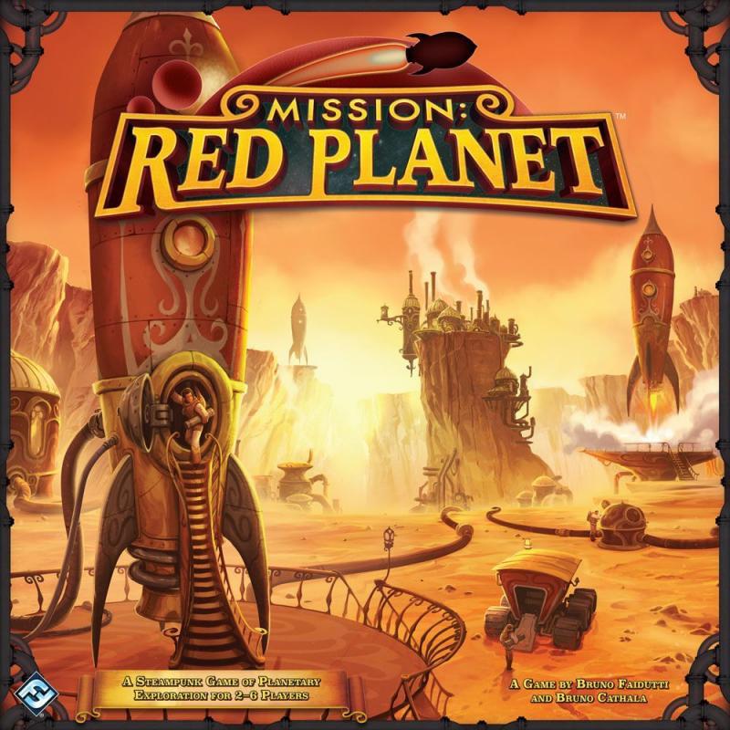настольная игра Mission: Red Planet (Second Edition) Миссия: Красная Планета (Второе издание)