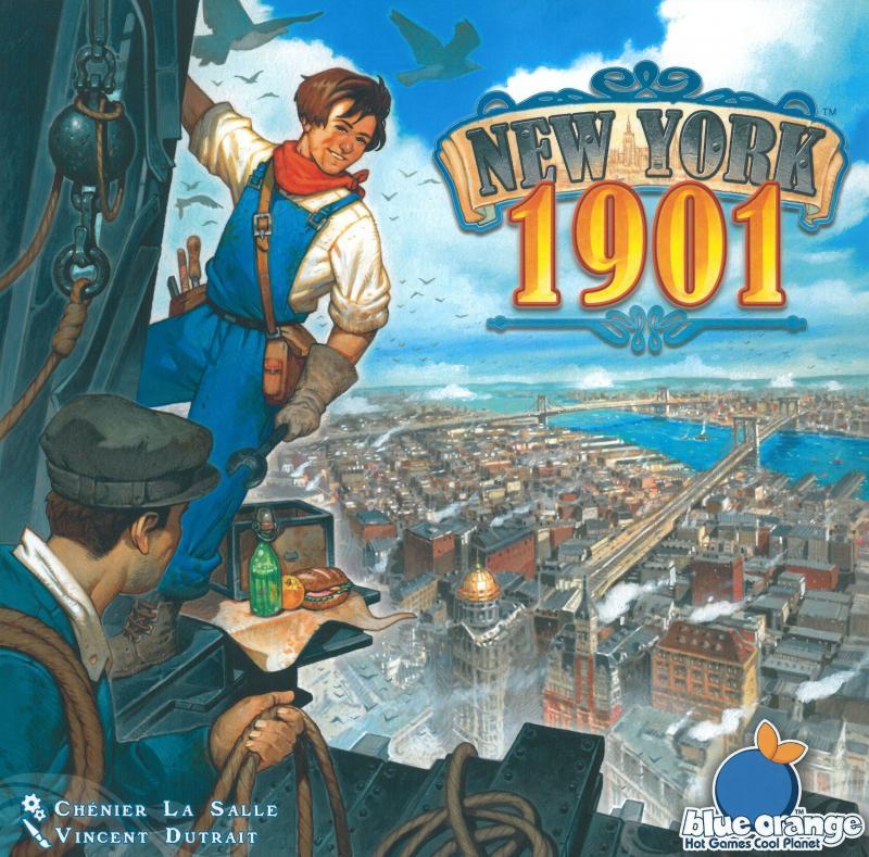 настольная игра New York 1901 Нью-Йорк 1901