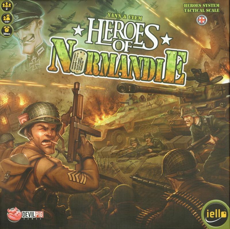 настольная игра Heroes of Normandie Герои Нормандии