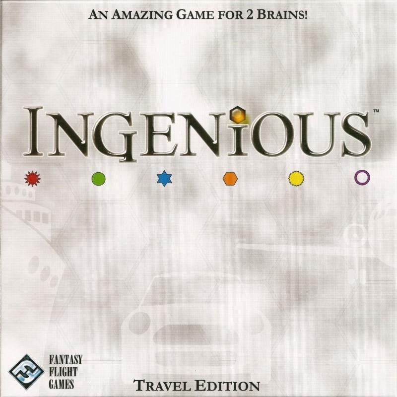 настольная игра Ingenious: Travel Edition Гениальный: Travel Edition