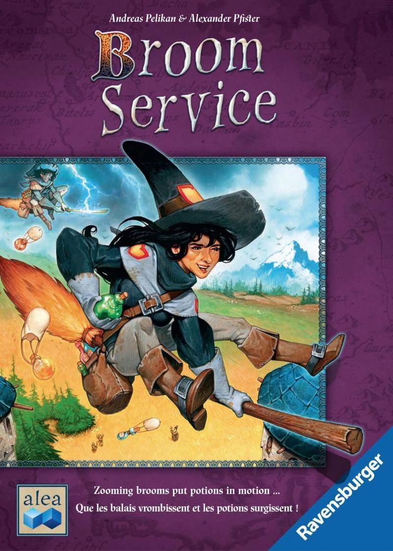 настольная игра Broom Service Метла Сервис