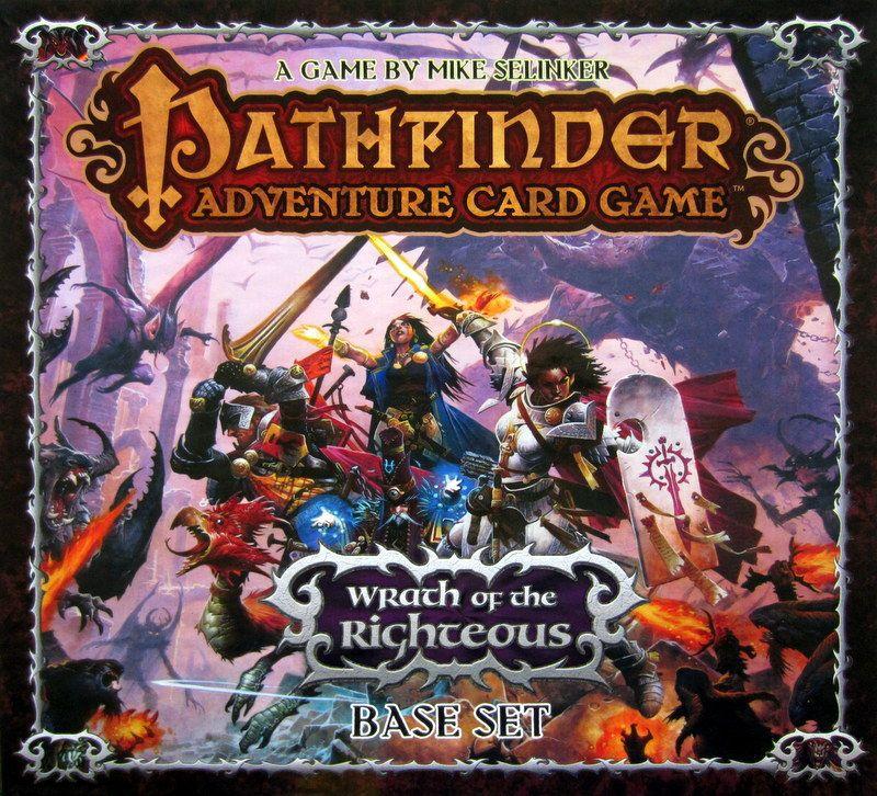настольная игра Pathfinder Adventure Card Game: Wrath of the Righteous – Base Set Приключенческая карточная игра «Следопыт»: Гнев праведников - Базовый набор