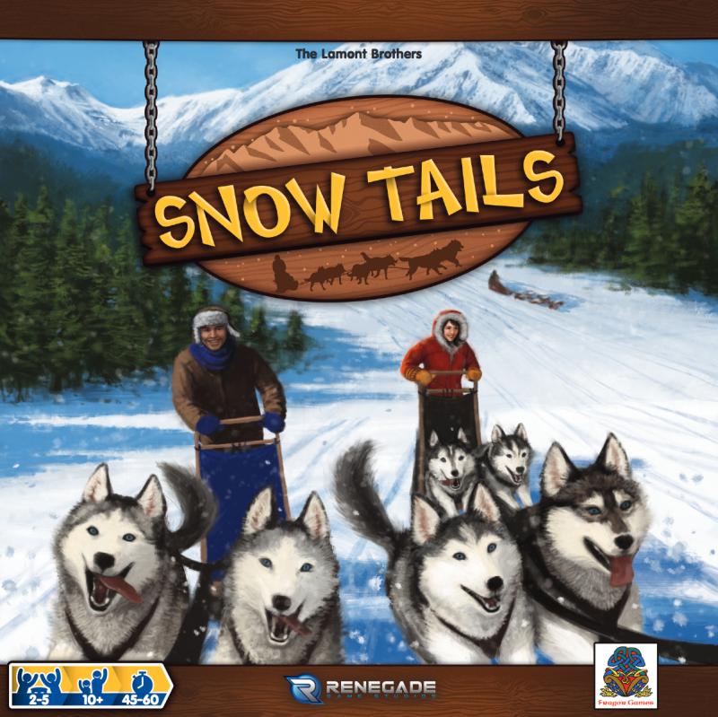 настольная игра Snow Tails Снежные хвосты