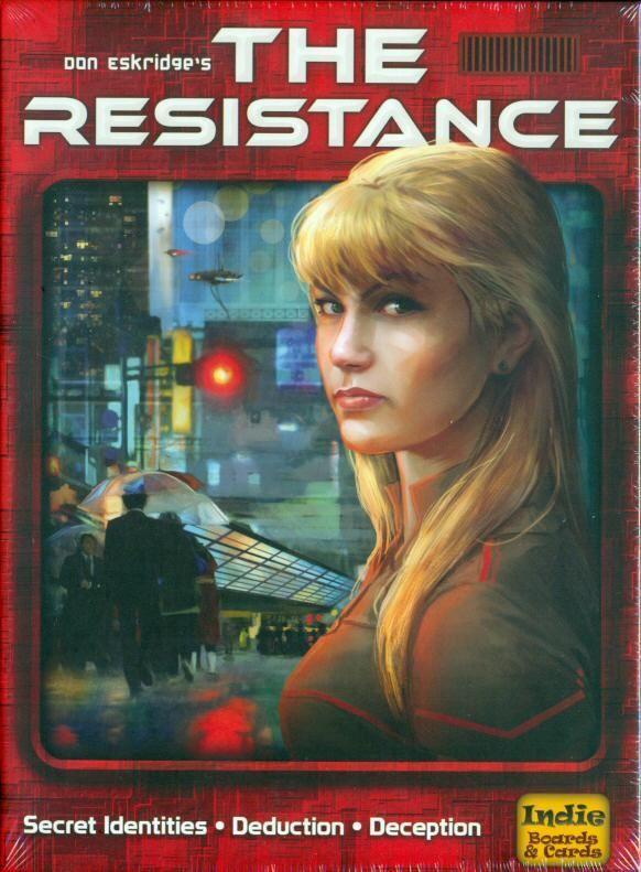настольная игра The Resistance Сопротивление