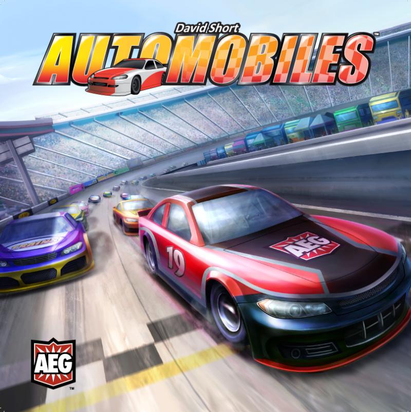настольная игра Automobiles Автомобили
