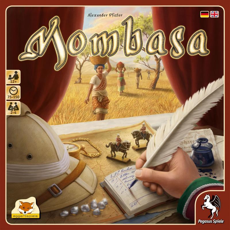 настольная игра Mombasa Момбаса