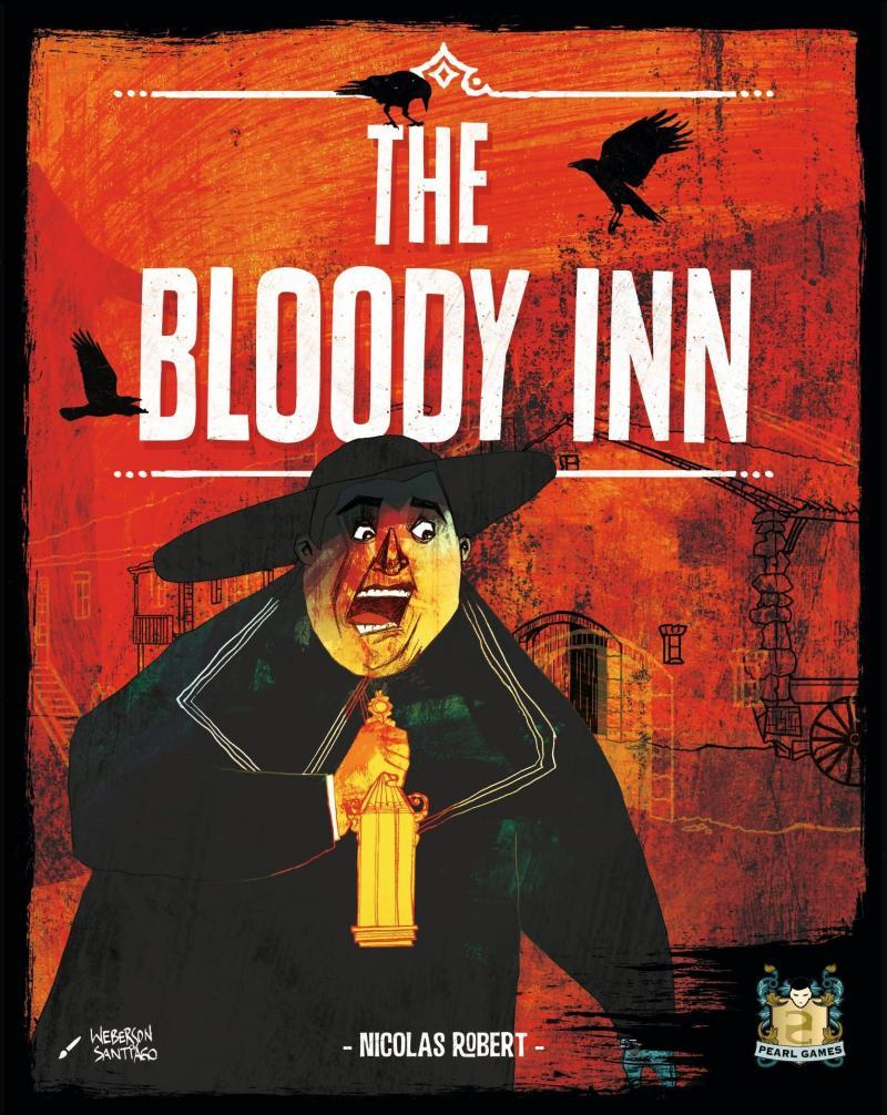 настольная игра The Bloody Inn Кровавая гостиница