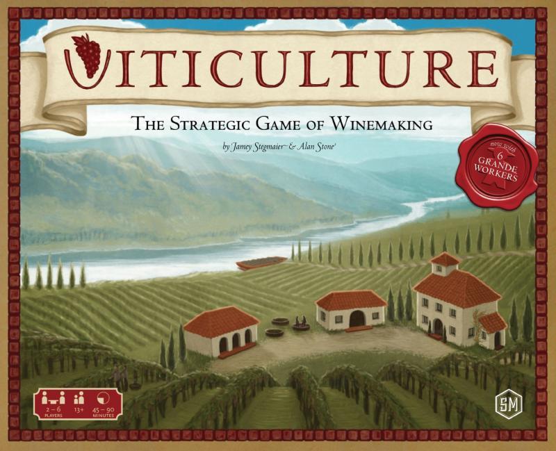 настольная игра Viticulture Виноградарство