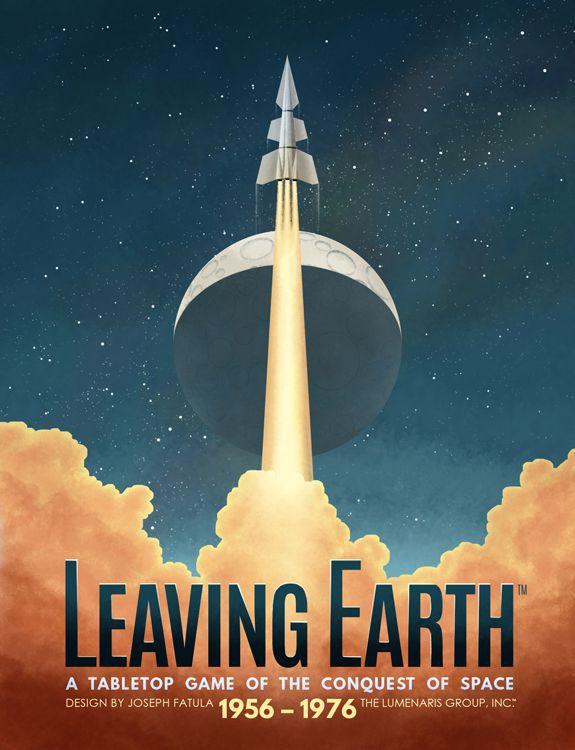 настольная игра Leaving Earth Покидая Землю