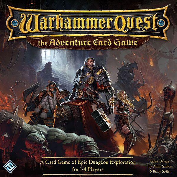 настольная игра Warhammer Quest: The Adventure Card Game Warhammer Quest: приключенческая карточная игра