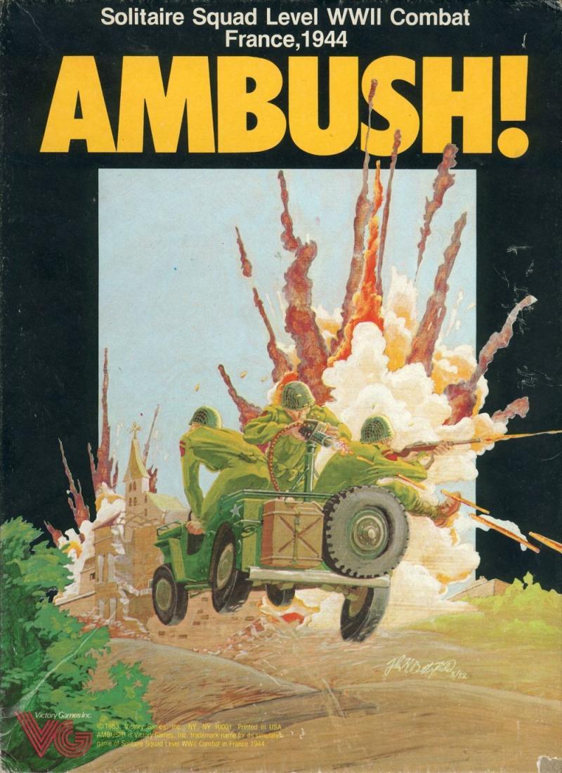 настольная игра Ambush! Засада!