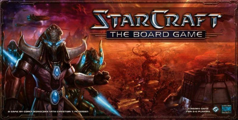 настольная игра StarCraft: The Board Game StarCraft: настольная игра