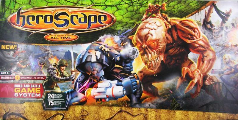 настольная игра Heroscape Master Set: Swarm of the Marro Heroscape Master Set: Рой Марро