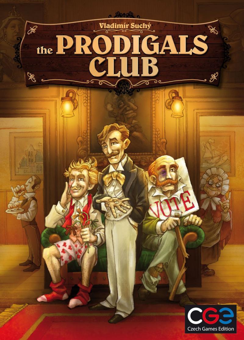 настольная игра The Prodigals Club Блудный Клуб
