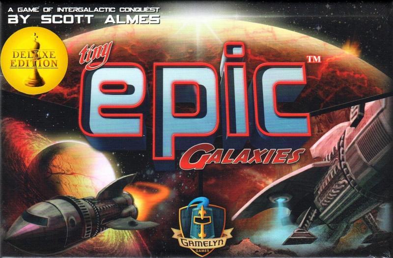 настольная игра Tiny Epic Galaxies: Deluxe Edition