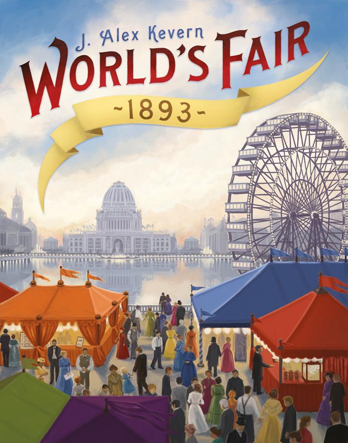 настольная игра World's Fair 1893 Всемирная ярмарка 1893