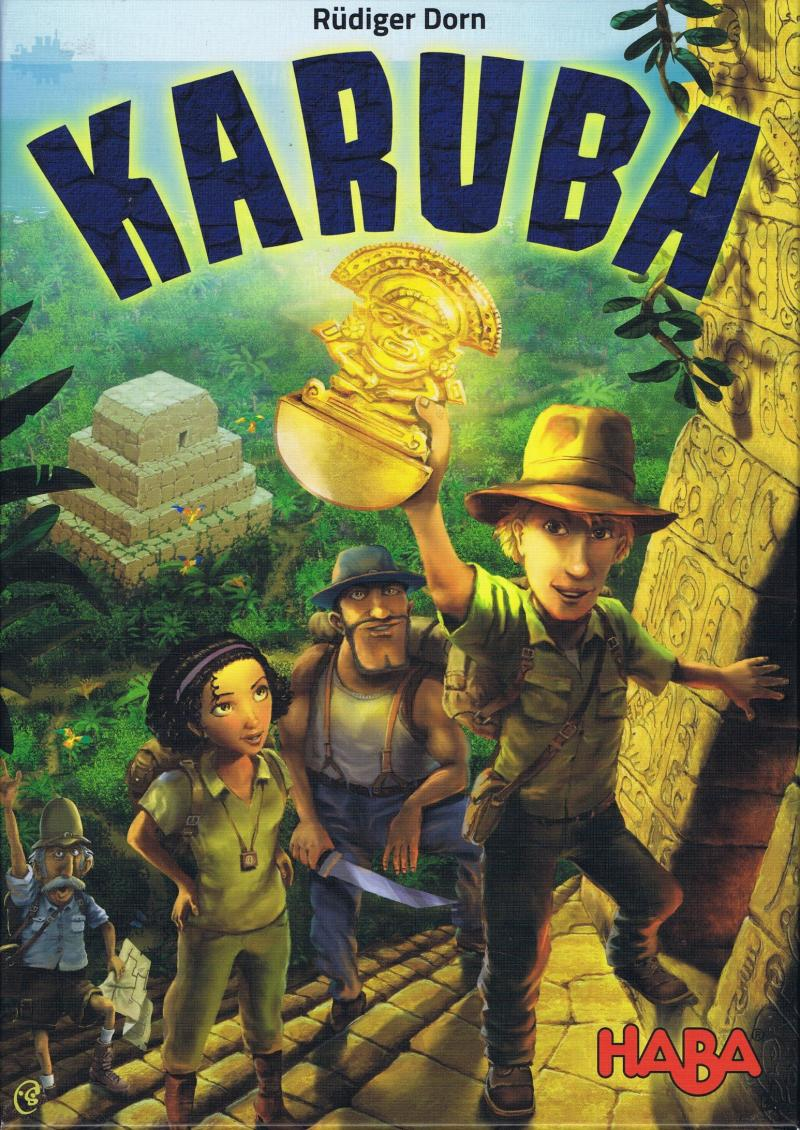 настольная игра Karuba