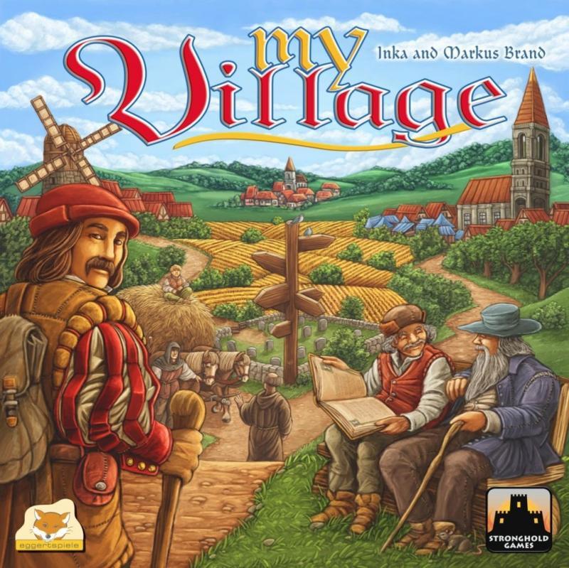 настольная игра My Village Моя деревня