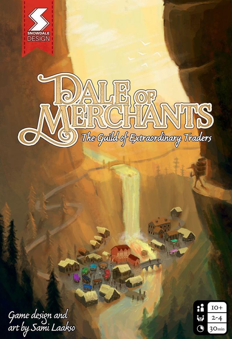 настольная игра Dale of Merchants Долина торговцев