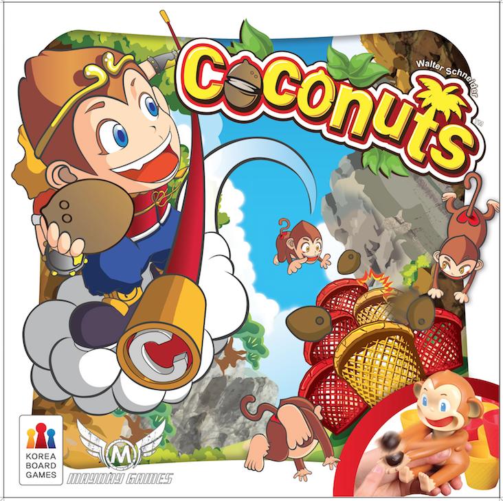 настольная игра Coconuts Кокосы