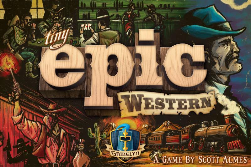 настольная игра Tiny Epic Western