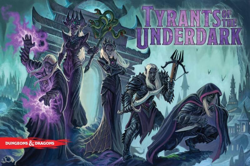 настольная игра Tyrants of the Underdark Тираны Подземья