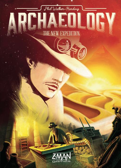 настольная игра Archaeology: The New Expedition Археология: новая экспедиция