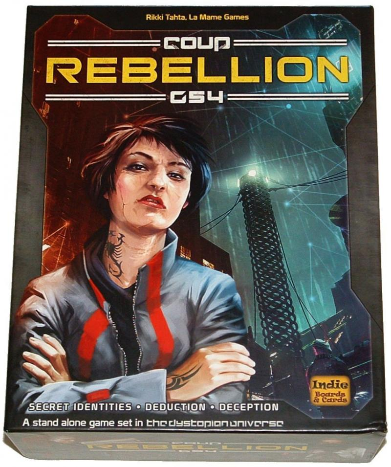 настольная игра Coup: Rebellion G54 Переворот: Восстание G54