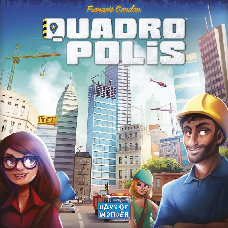 настольная игра Quadropolis