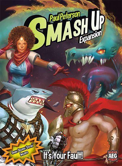 настольная игра Smash Up: It's Your Fault! Smash Up: Это твоя вина!