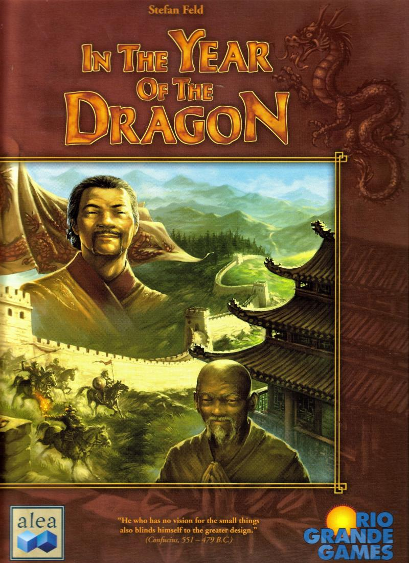настольная игра In the Year of the Dragon В год Дракона