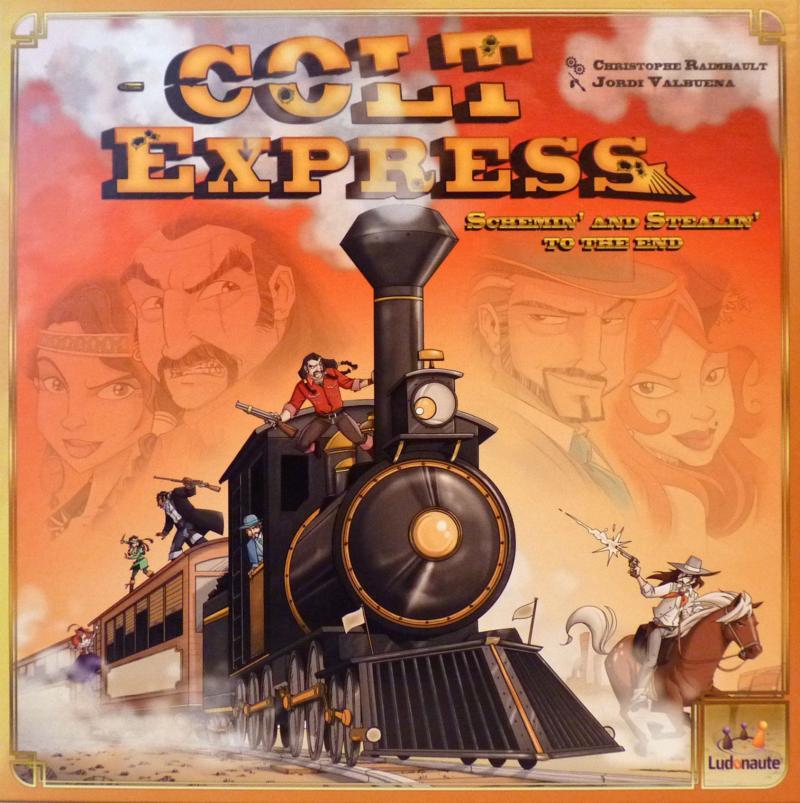 настольная игра Colt Express Кольт Экспресс