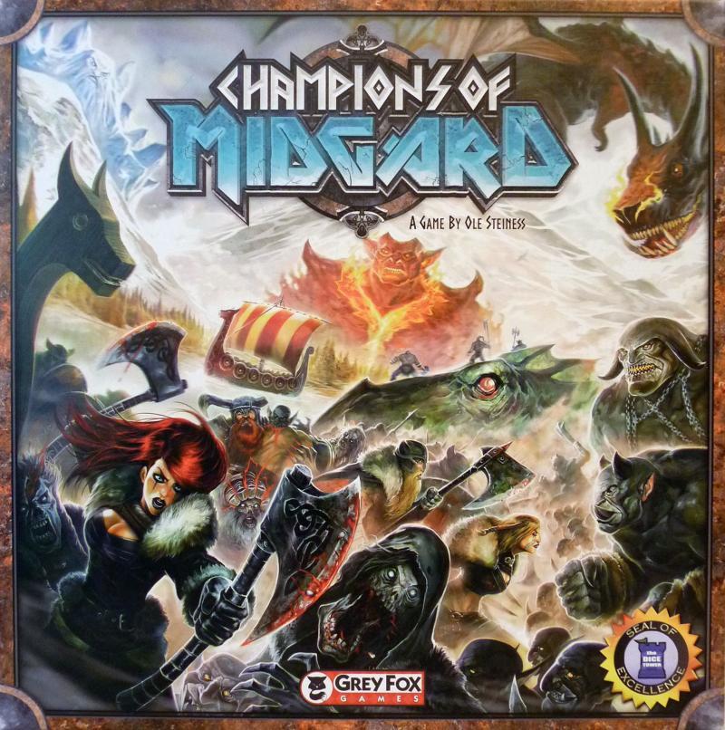 настольная игра Champions of Midgard Чемпионы Мидгарда