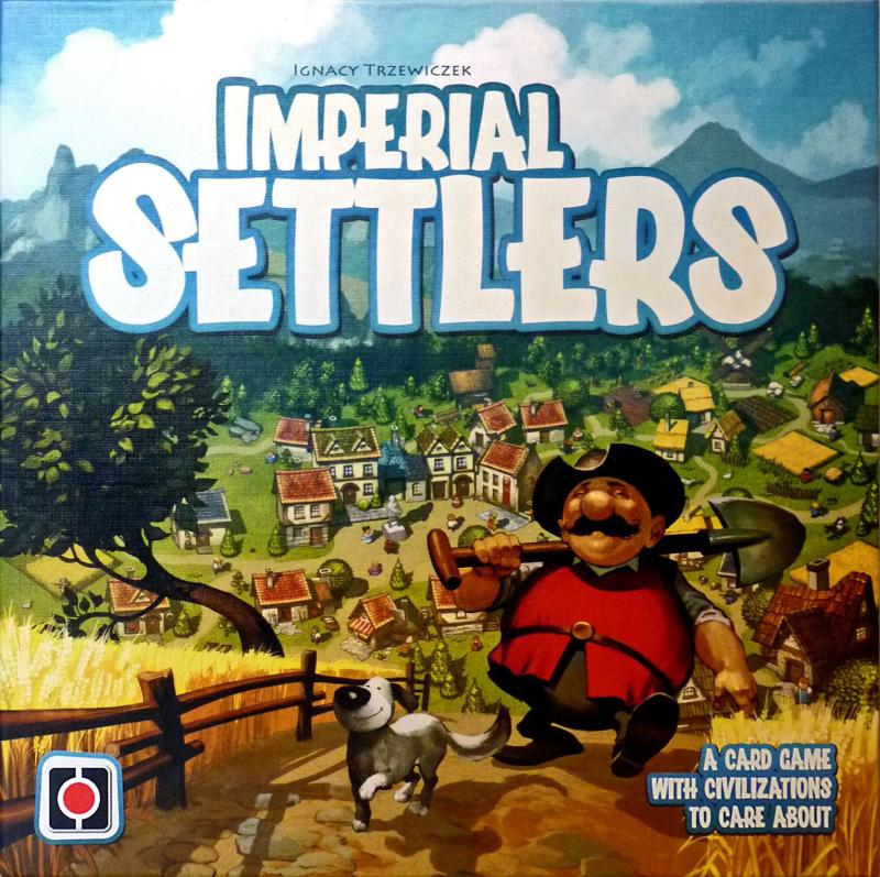 настольная игра Imperial Settlers Имперские Поселенцы
