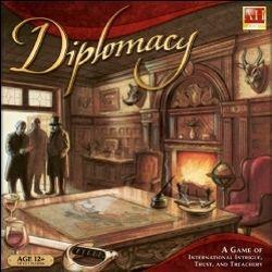 настольная игра Diplomacy Дипломатия