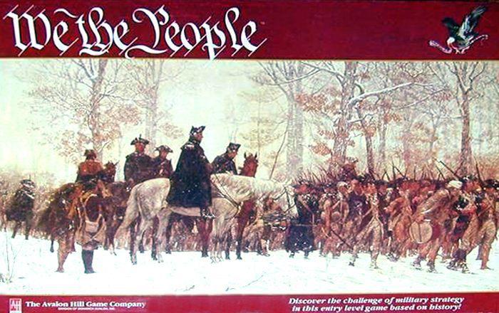 настольная игра We the People Мы люди