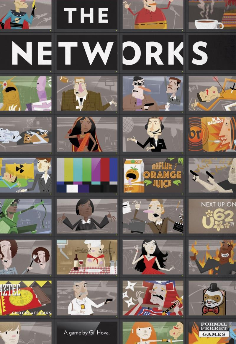 настольная игра The Networks Сети
