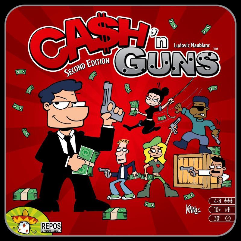 настольная игра Ca$h 'n Guns (Second Edition) Ca $ h 'n Guns (второе издание)