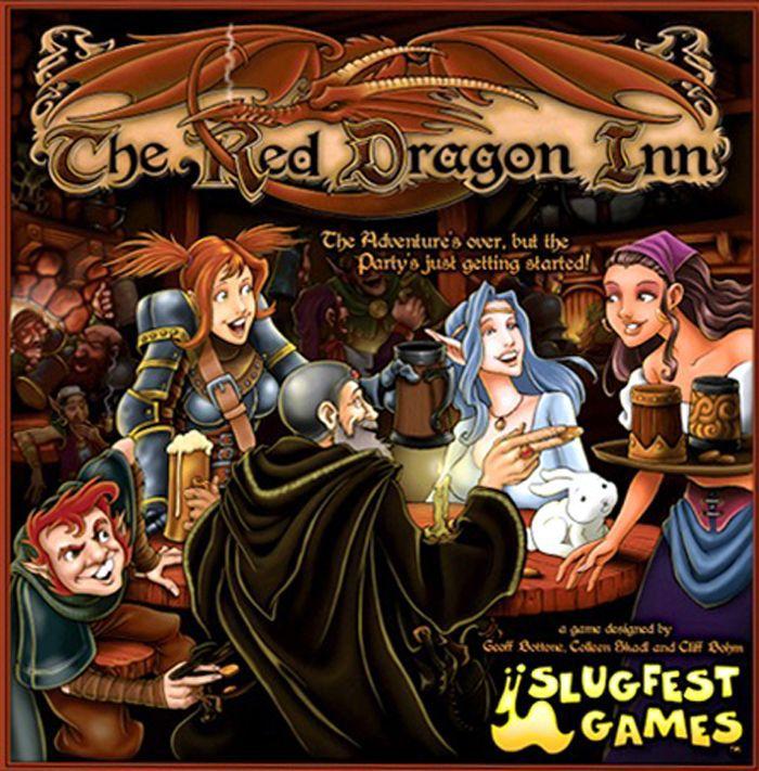 настольная игра The Red Dragon Inn Гостиница Красный Дракон