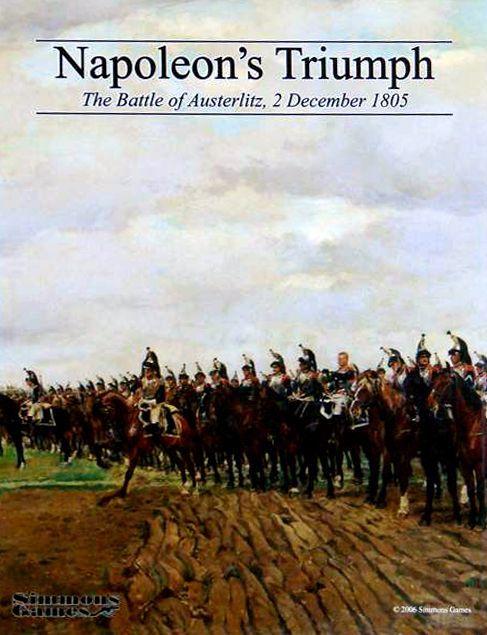 настольная игра Napoleon's Triumph Триумф наполеона