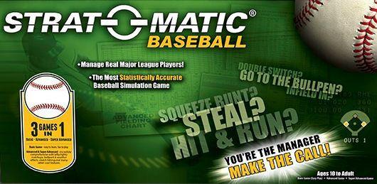 настольная игра Strat-O-Matic Baseball Strat-O-Matic Бейсбол