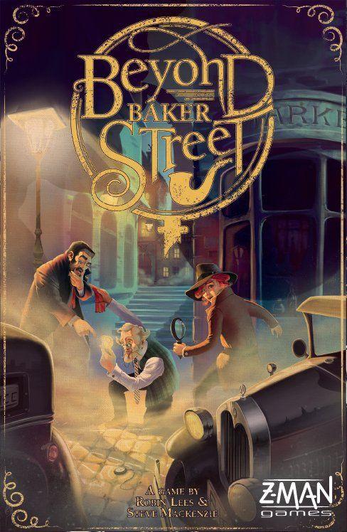 настольная игра Beyond Baker Street За пределами Бейкер-стрит