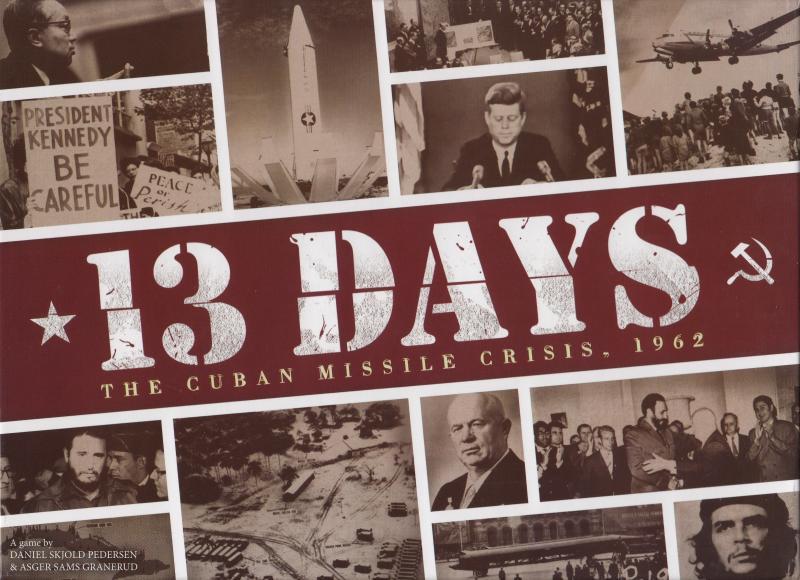 настольная игра 13 Days: The Cuban Missile Crisis 13 дней: кубинский ракетный кризис