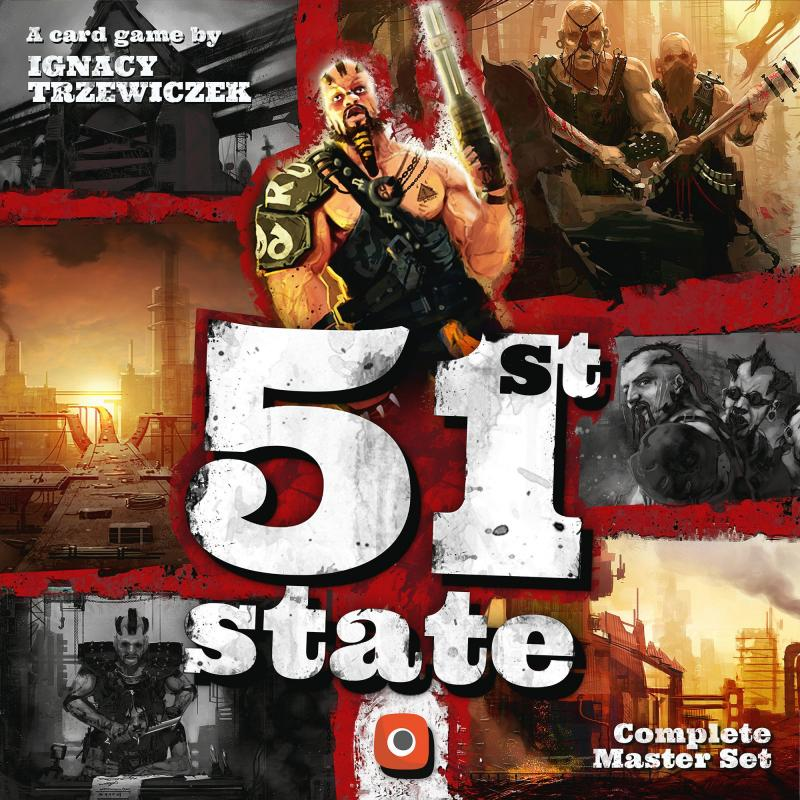 настольная игра 51st State: Master Set 51-е состояние: мастер сет