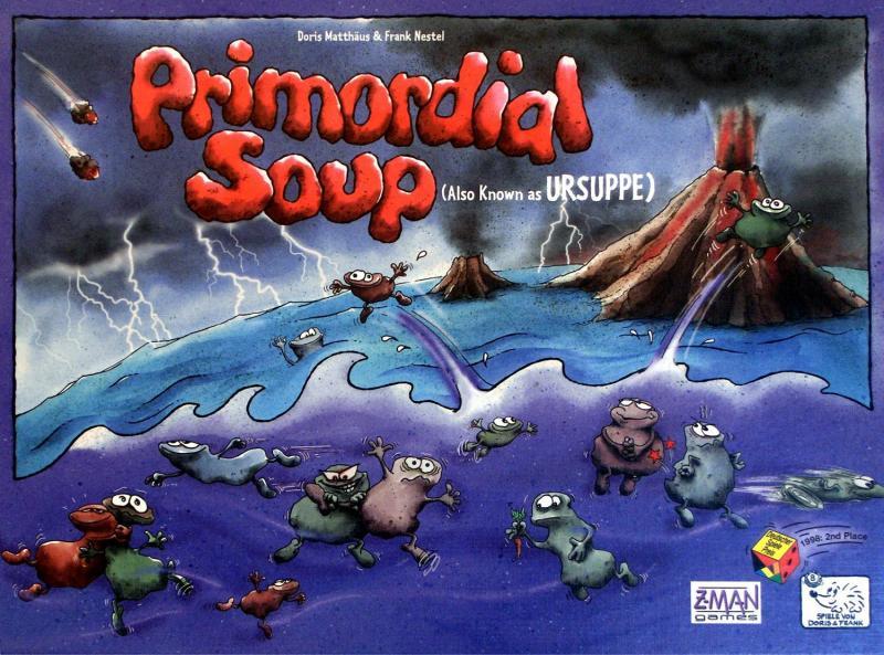 настольная игра Primordial Soup Изначальный Суп
