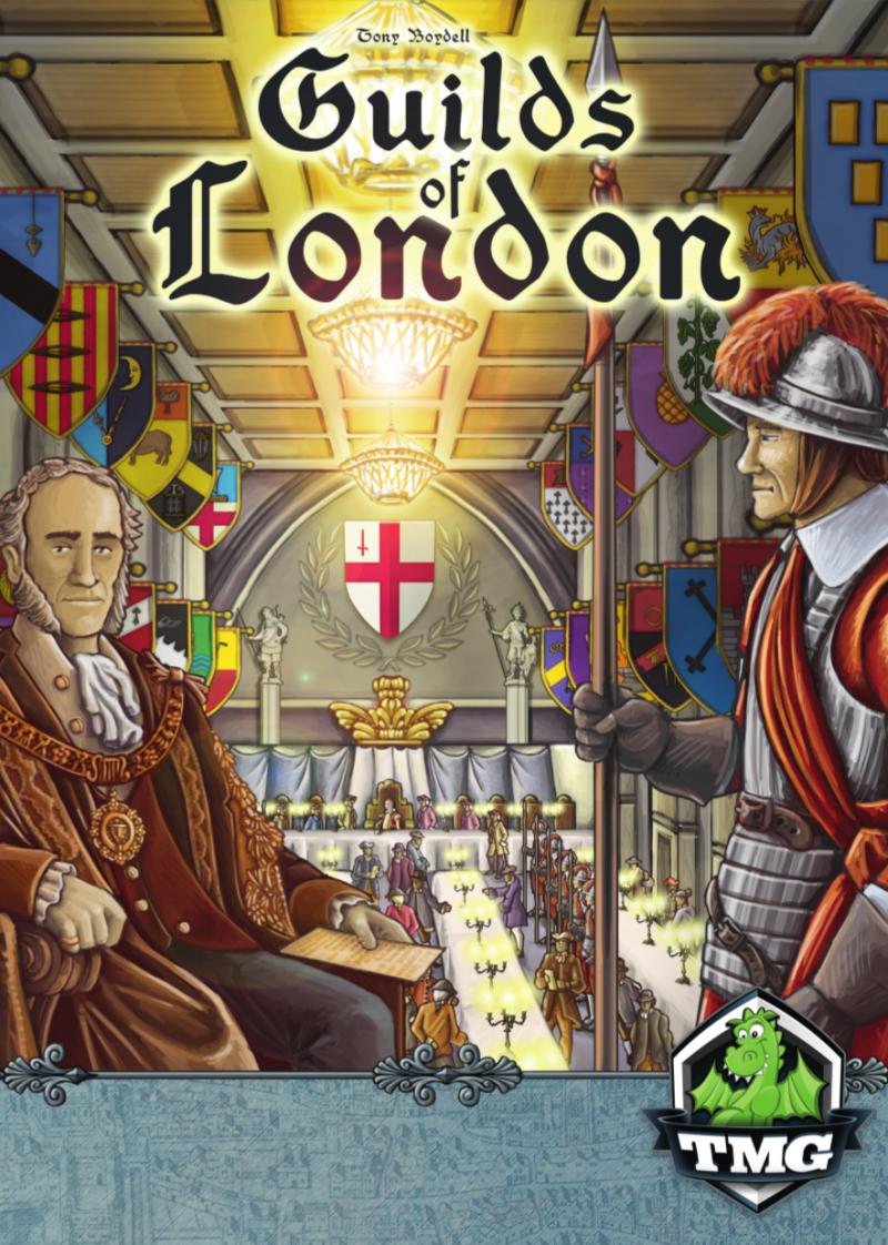 настольная игра Guilds of London Гильдии Лондона