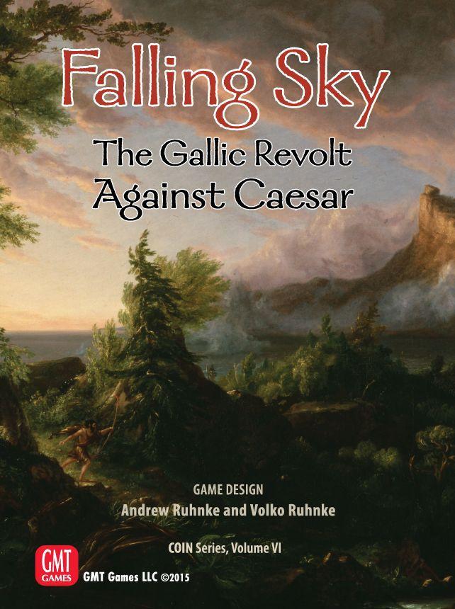настольная игра Falling Sky: The Gallic Revolt Against Caesar Падающее небо: Галльское восстание против Цезаря