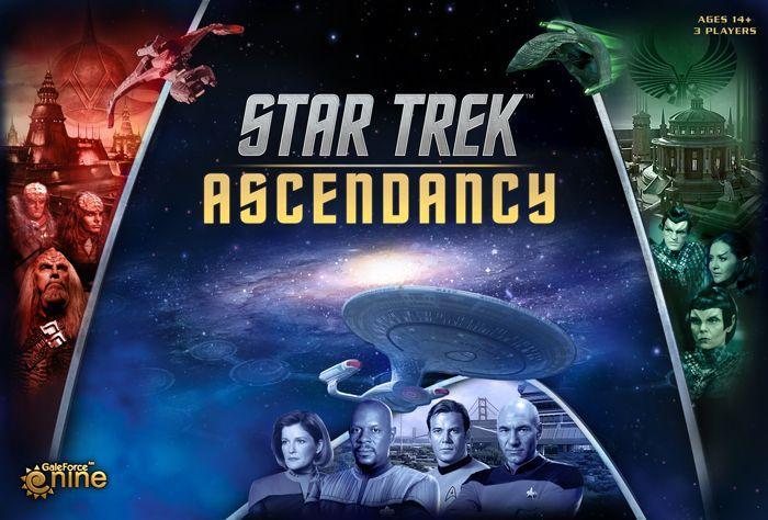 настольная игра Star Trek: Ascendancy Звездный путь: господство