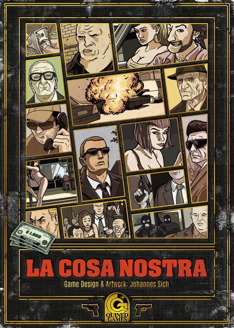 настольная игра La Cosa Nostra Ла Коза Ностра