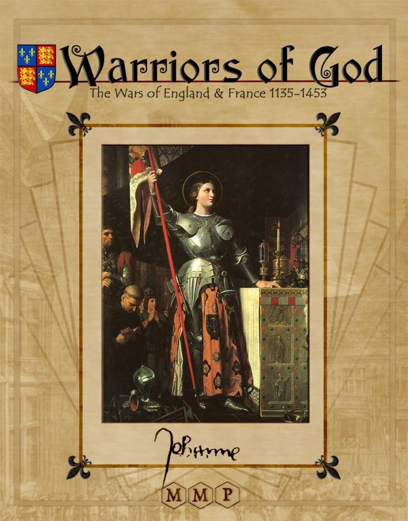 настольная игра Warriors of God: The Wars of England & France, 1135-1453 Воины Бога: Войны Англии и Франции, 1135-1453